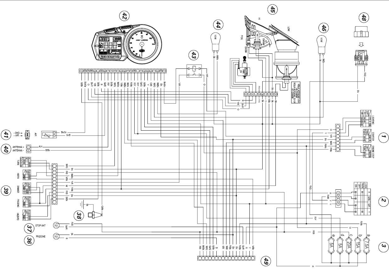Ducati Monster Wiring Diagram Ebay Trusted 96 Honda Cbr 600 2002 900 Enthusiast Diagrams U2022