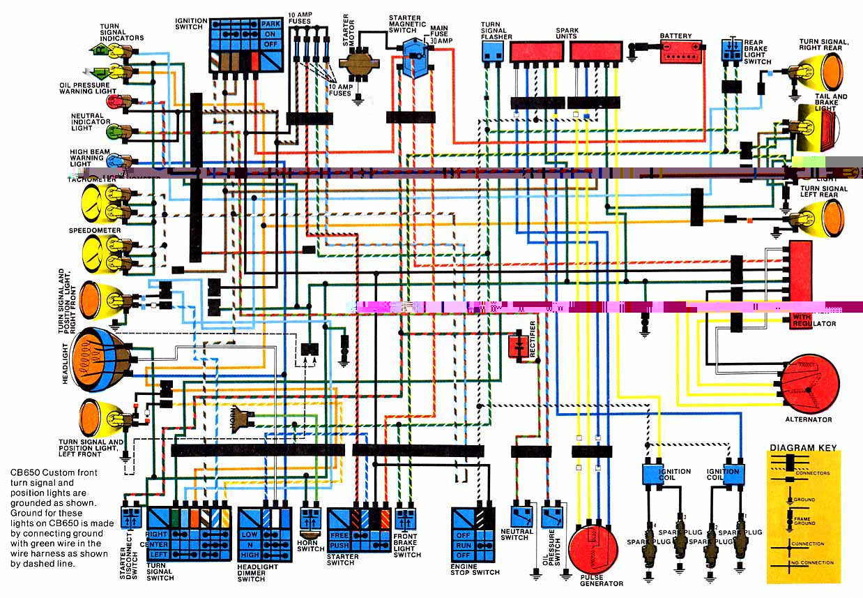 honda cb250 wiring diagram honda free engine image for user manual