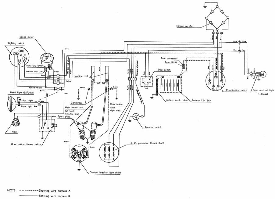 Cycle electric wiring diagrams free engine image