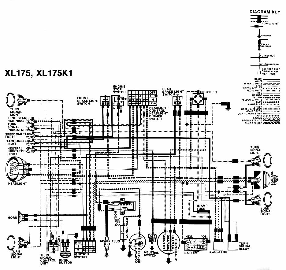 Honda XL175 wiring diagram xr600 wiring diagram 1985 chevy truck wiring diagram \u2022 free wiring Wiring-Diagram 1979 Honda CT90 at reclaimingppi.co