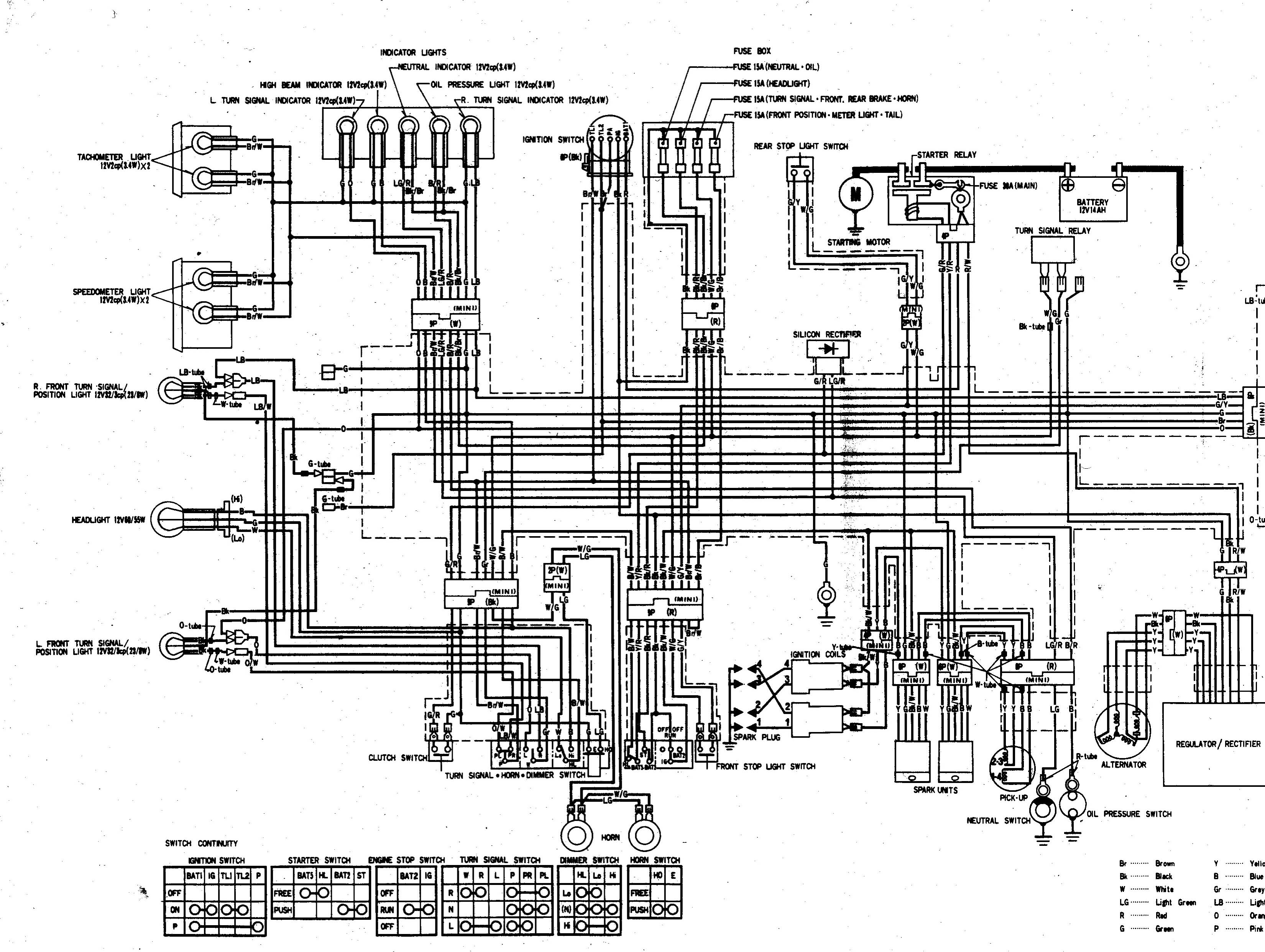 1983 kawasaki 650 csr wiring diagram  1983  free engine