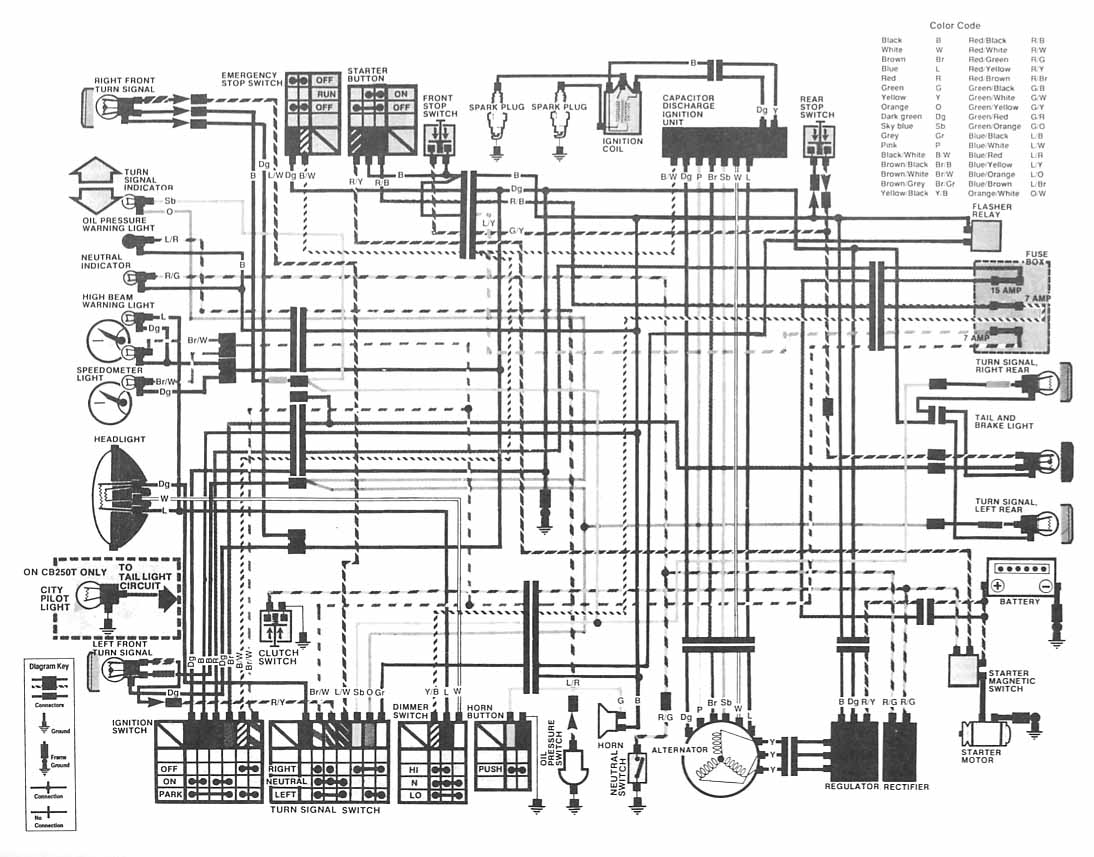 Index Of Rd350 Regulator Rectifier Wiring Diagram Honda Cb400hawkii Electrical