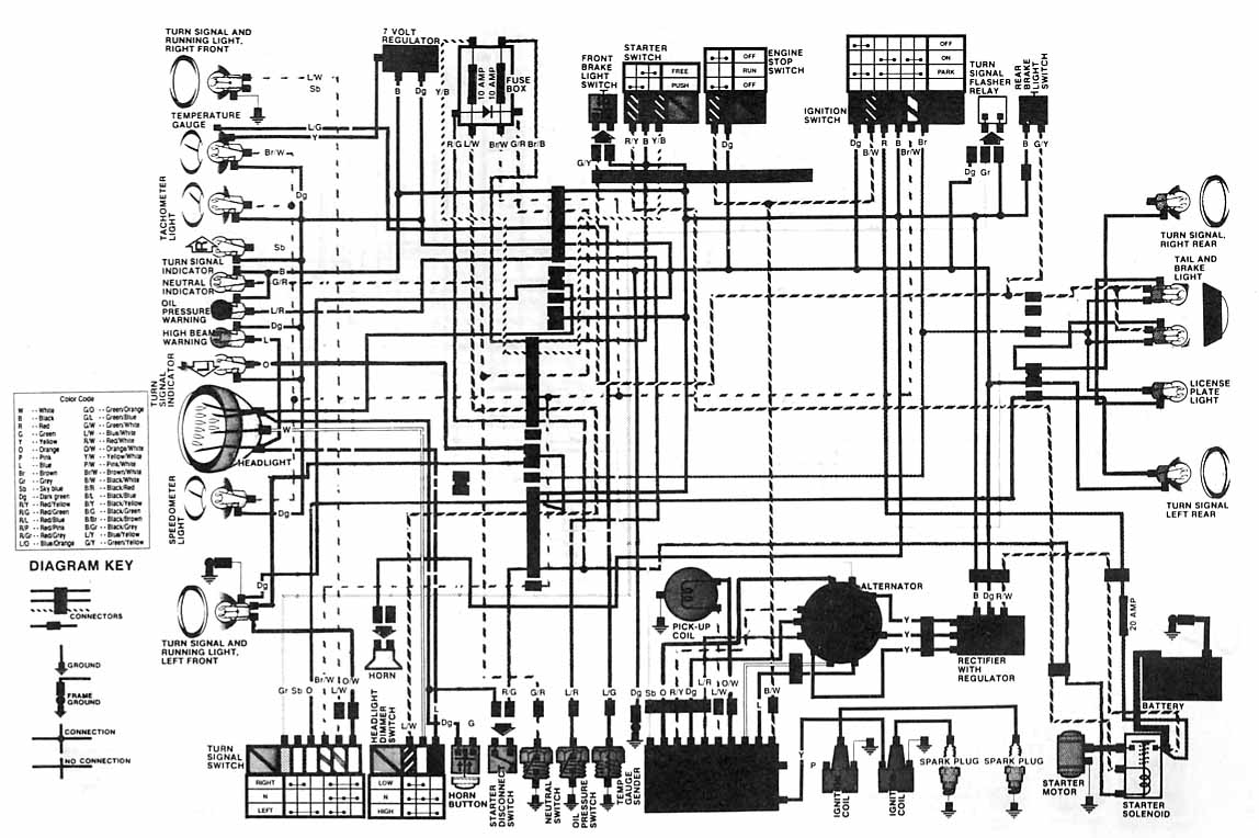 Index Of Rs 500 Wiring Diagram Honda Cx50078 Electrical
