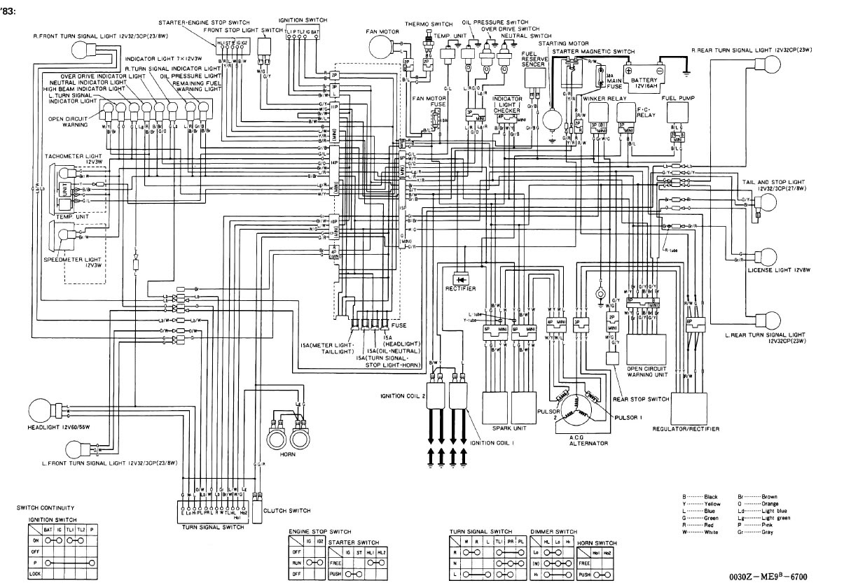 Index Of Honda Cb750 Chopper Wiring Diagram